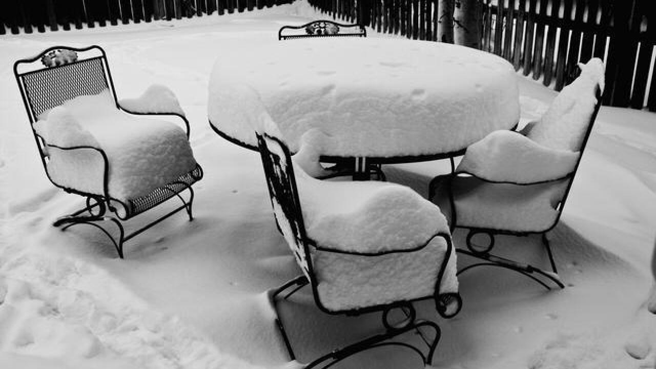 Denver's top 20 worst snowstorms