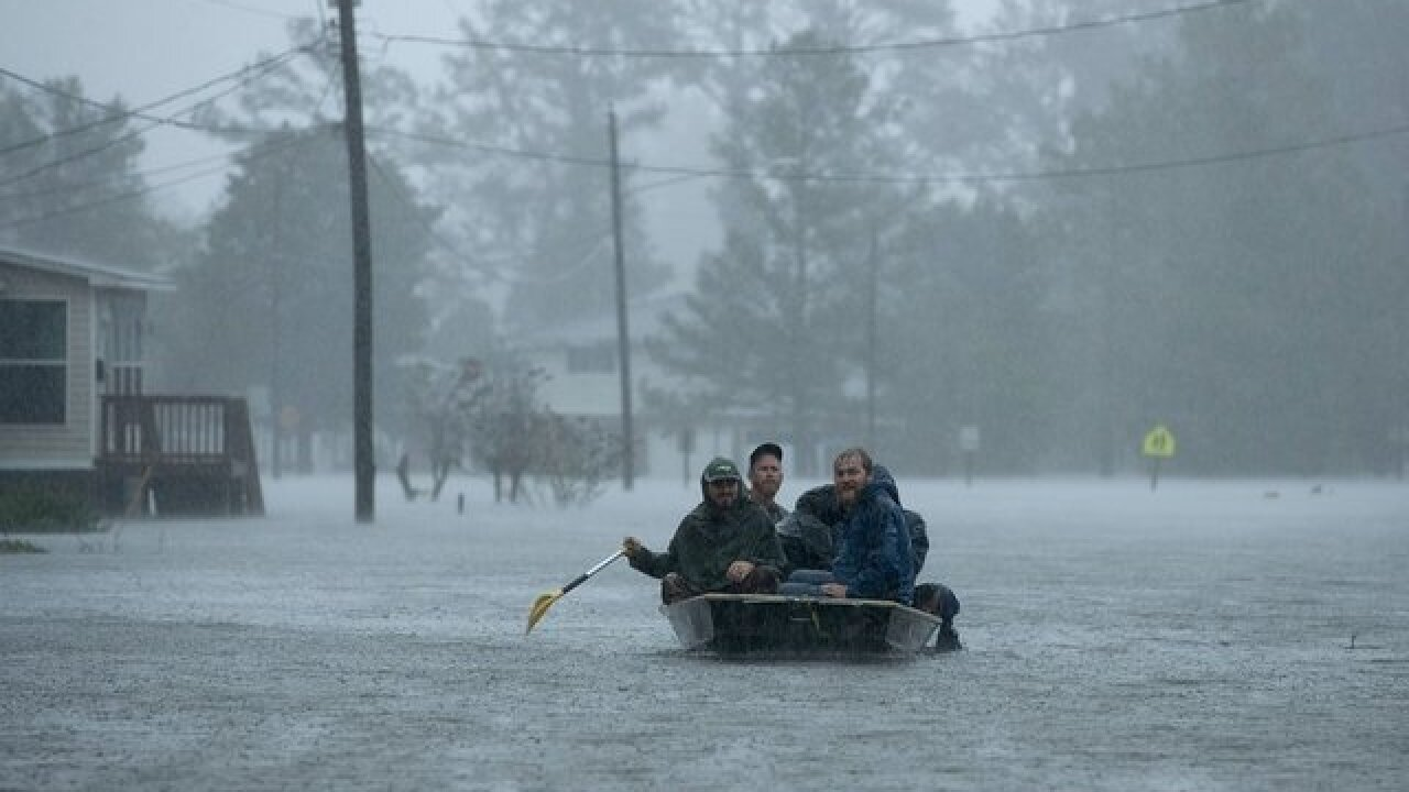 Hurricane Florence is about to flood Georgetown, South Carolina. They don't know how bad it will be