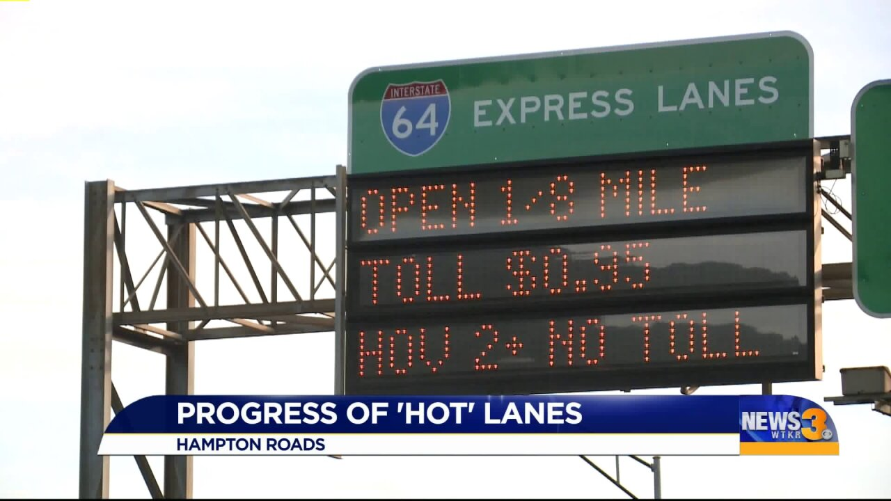 Toll lane expansion to lead to revenue for other road projects, regional transportation organization says