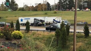 I-71/75 semi crash