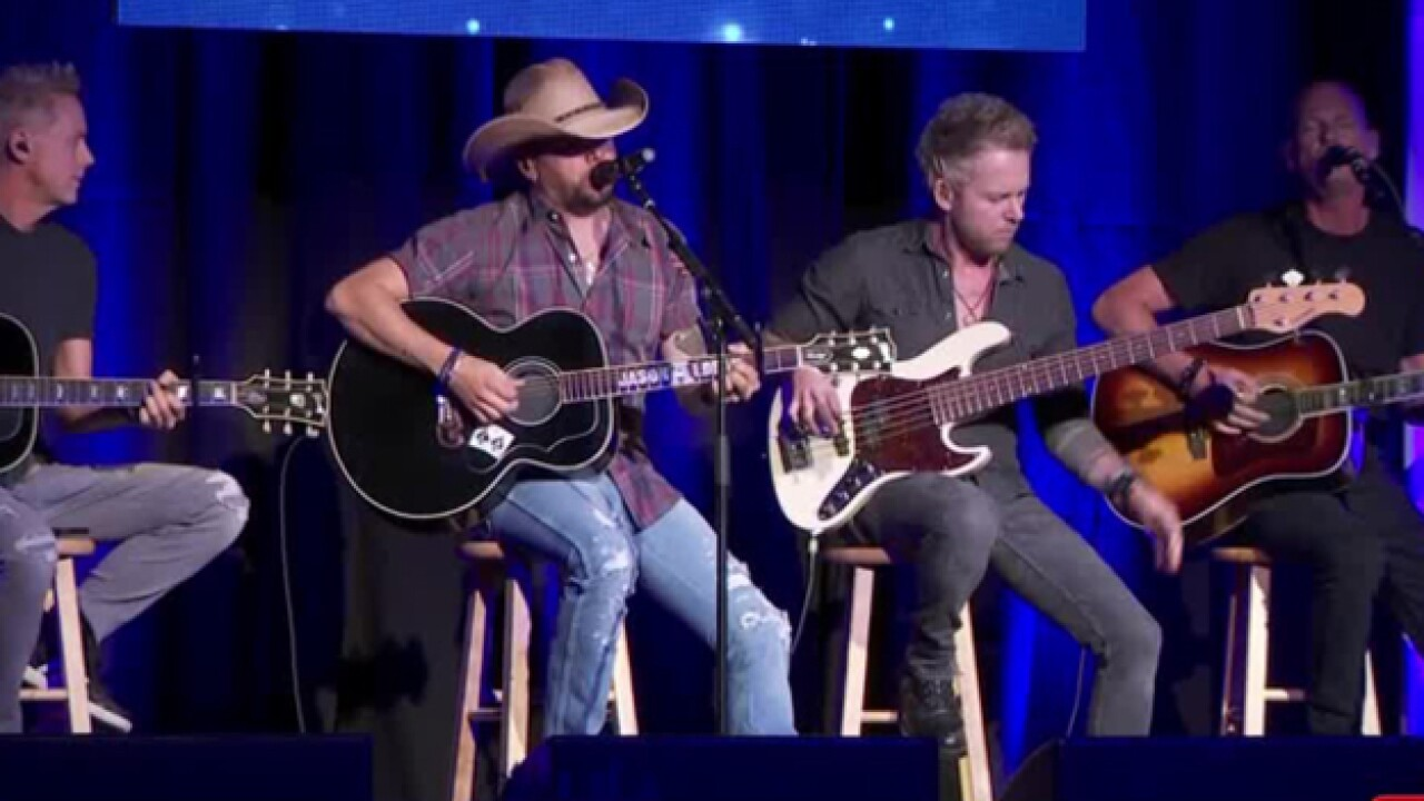Performance gives support to those impacted by Las Vegas shooting