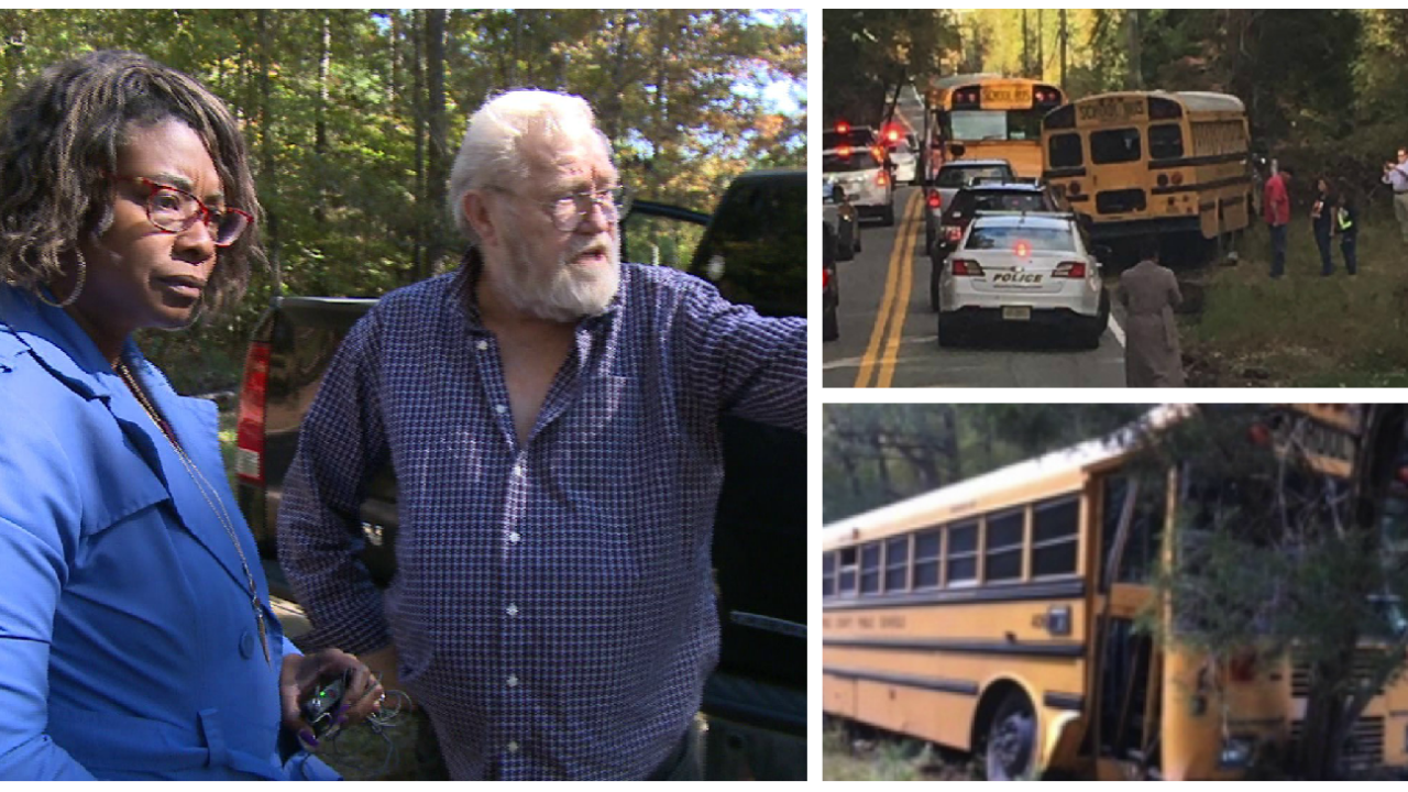 Bus driver involved in crash no longer employed by Chesterfieldschools