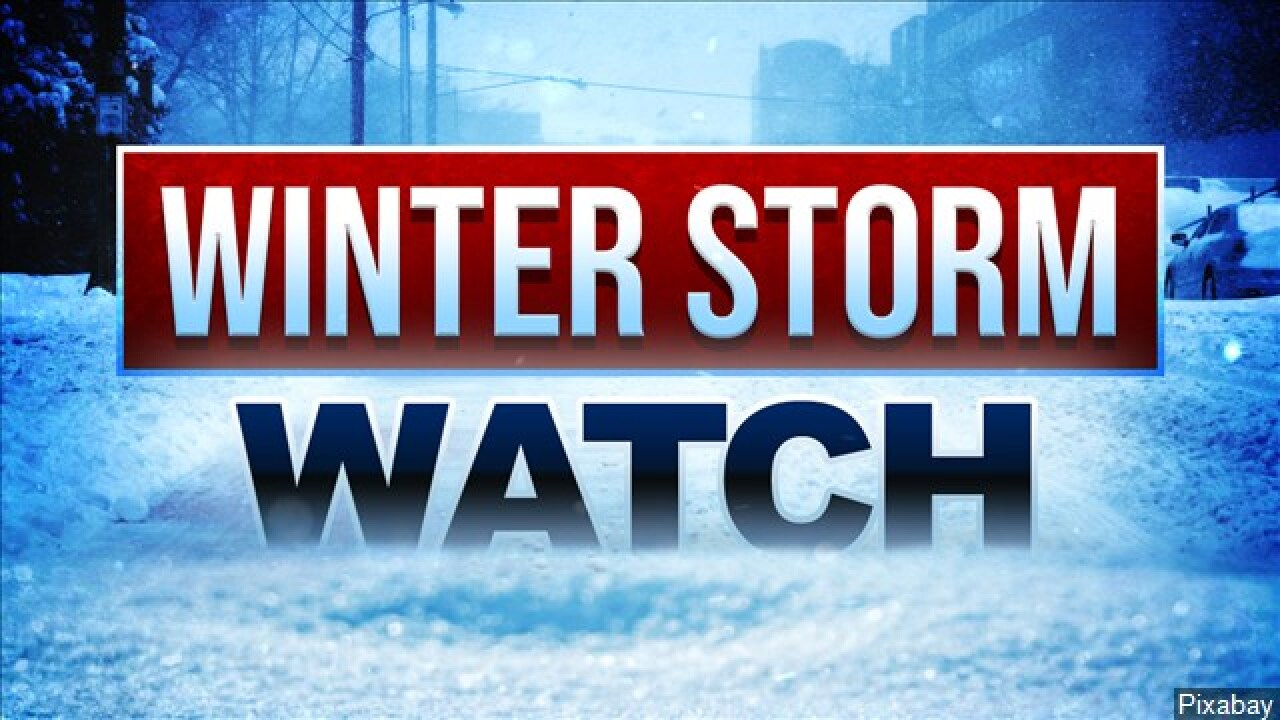 Rain and snow storms expected in central and southern Utah thisweek