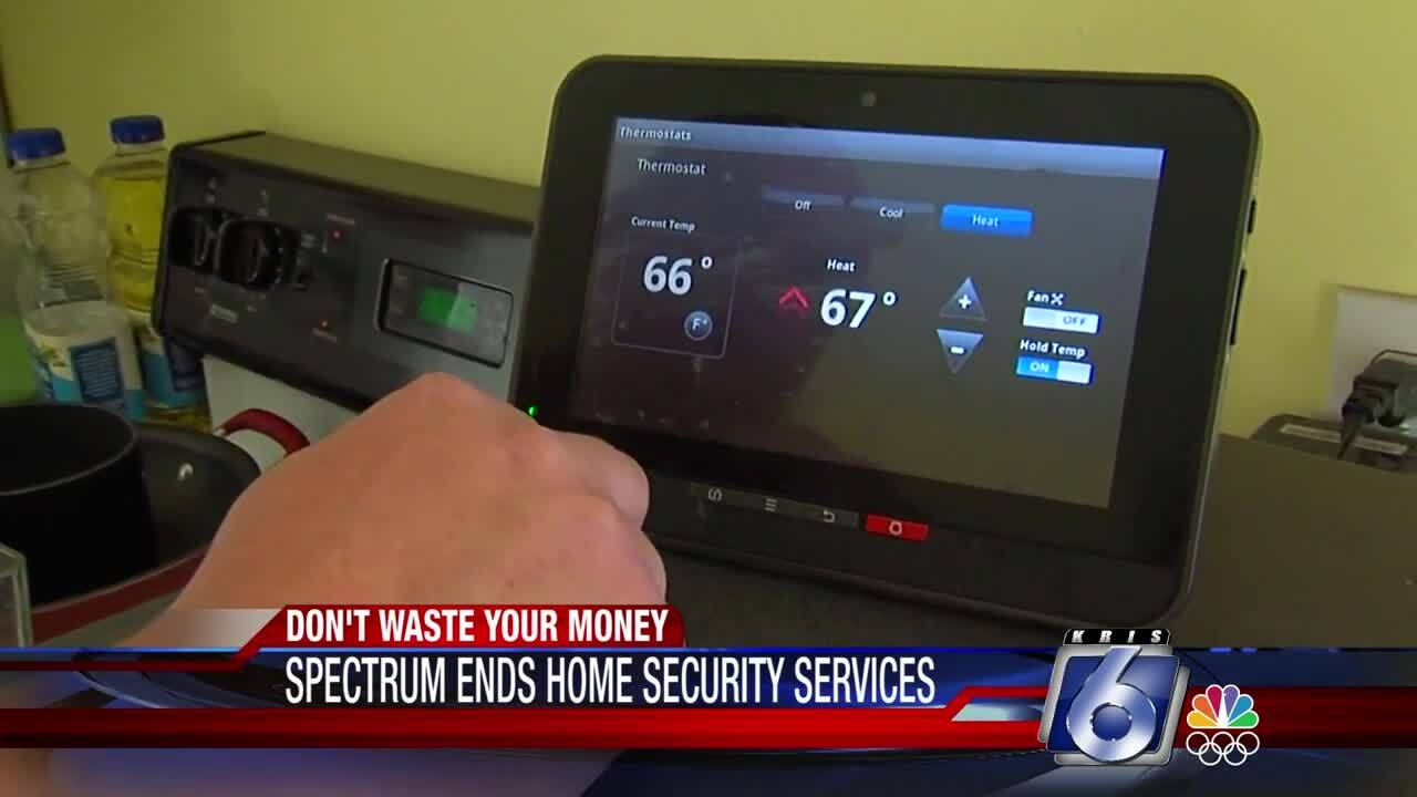 Spectrum Cable ends home security services