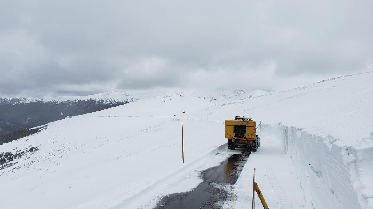 RMNP Snowplow operator below Gore Range overlook May 28, 2109 Courtesy Rocky Mountain National Park.jpg