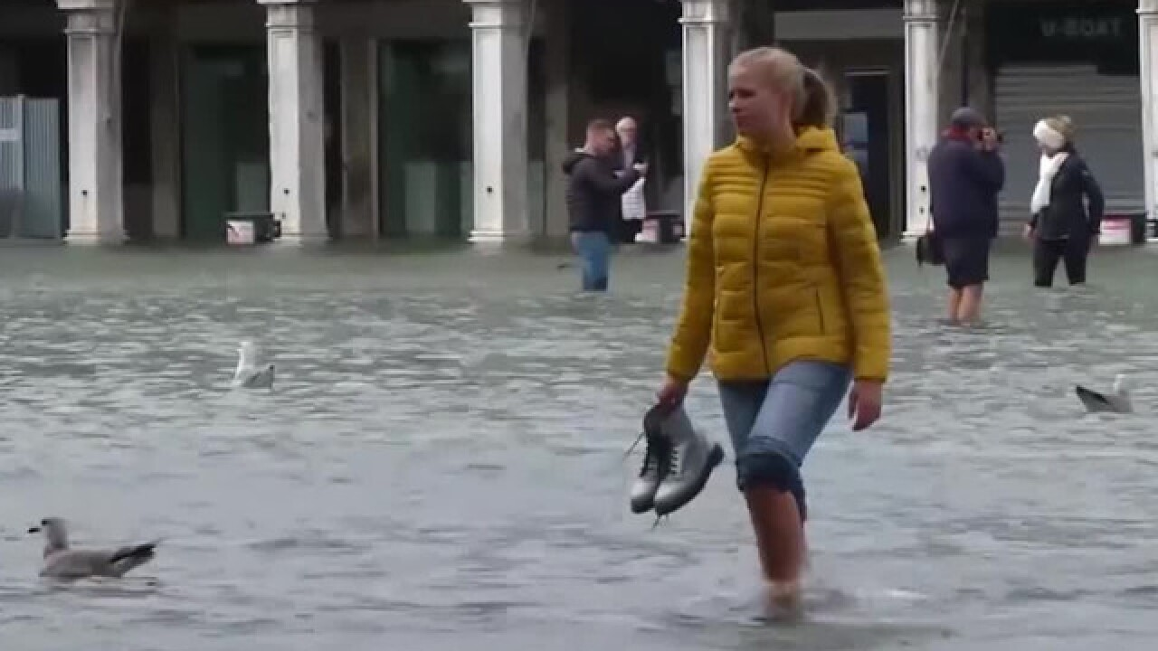 Venice under water, 9 people dead after extreme weather in Italy