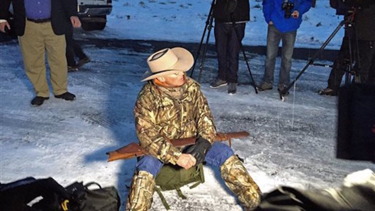 The armed standoff in Oregon continues