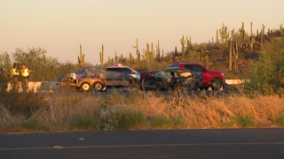 I-17 Carefree crash