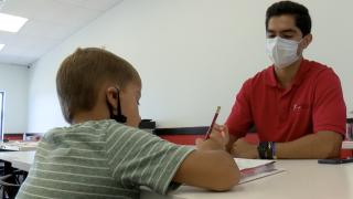 Program offers support as children learn online