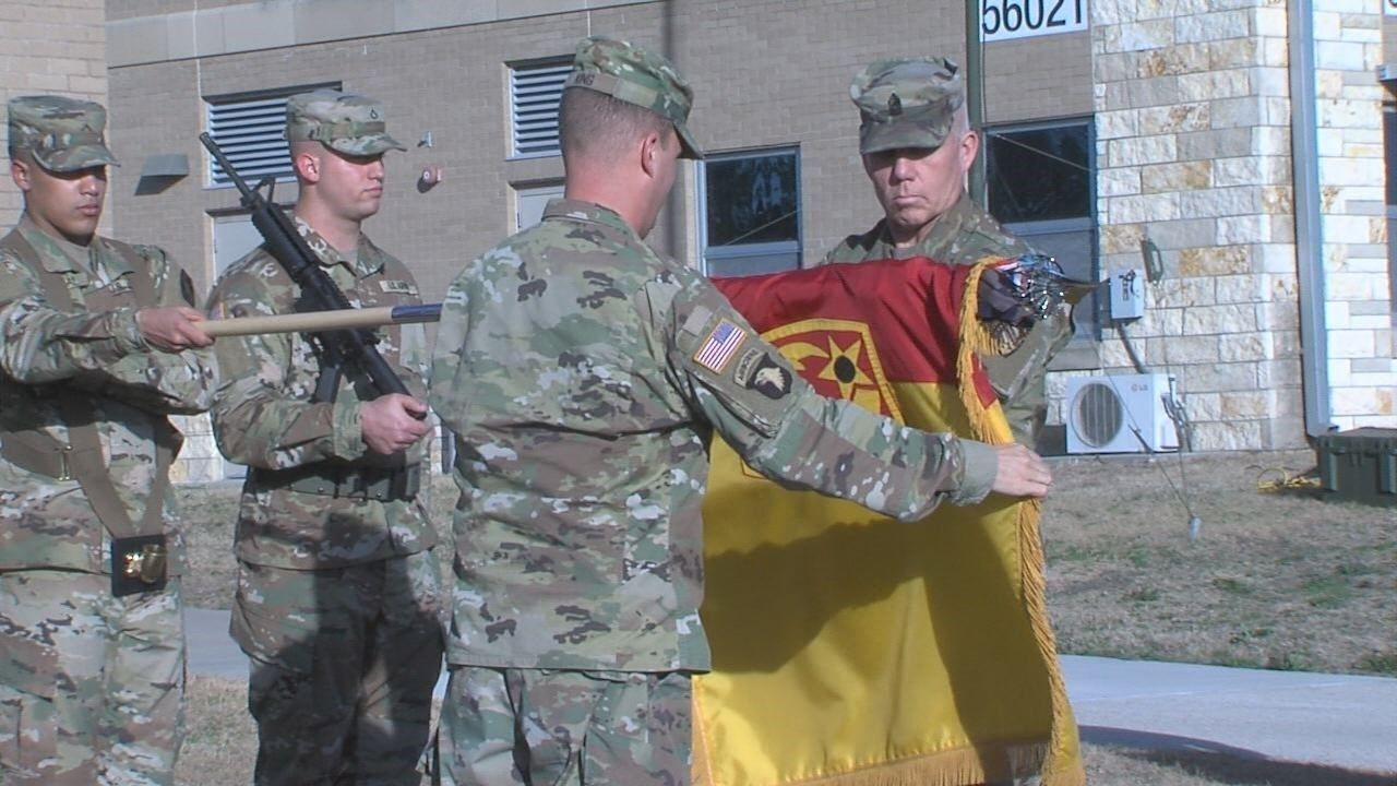 Color casing ceremony held ahead of deployment