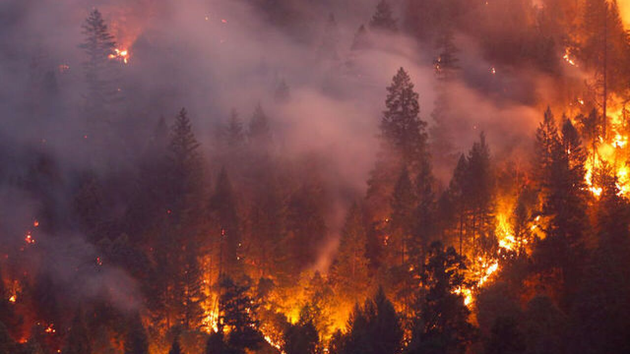 California wildfires kill 8 people, and brutal heat spells more danger