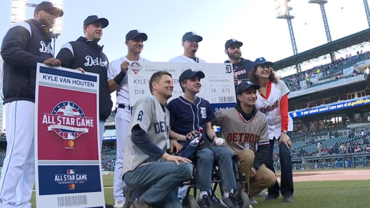 Tigers and Make-A-Wish surprise 18-year-old with trip to MLB All-Star Game