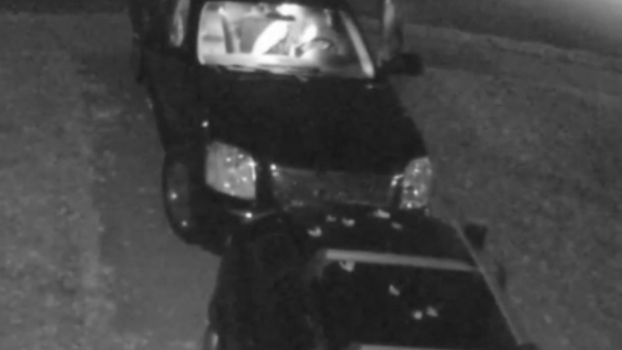 Video shows car break-in on Hyde Park street