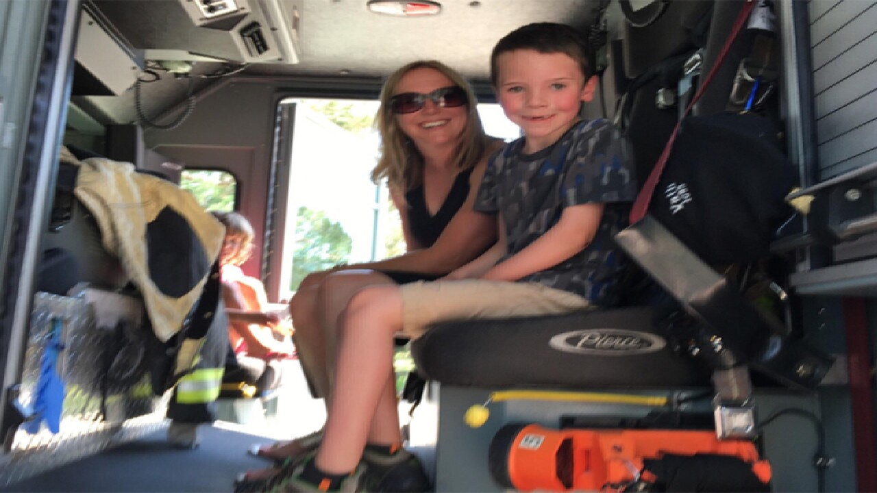 In Lieu Of Birthday Gifts This 7 Year Old Boy Raised Money For The Arvada Fire District