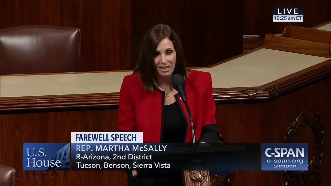 McSally Final Speech
