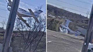 Pilot survives small plane crash on Long Island