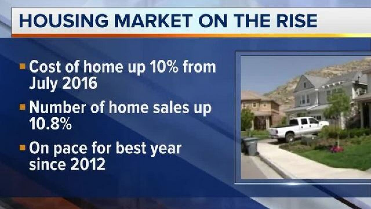 Las Vegas home prices, sales continue to rise