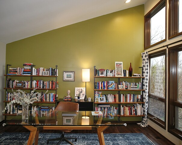 Home Tour: Bellevue, Ky., house offers both wooded seclusion and a view of the city