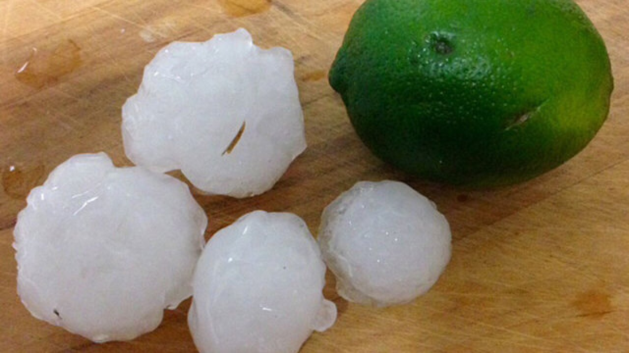 PHOTOS: Hail storm in Okeechobee, Treasure Coast
