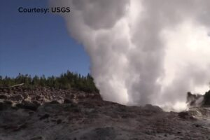 Steamboat Geyser in Yellowstone National Park is changing