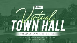 Florida A&M University virtual town hall