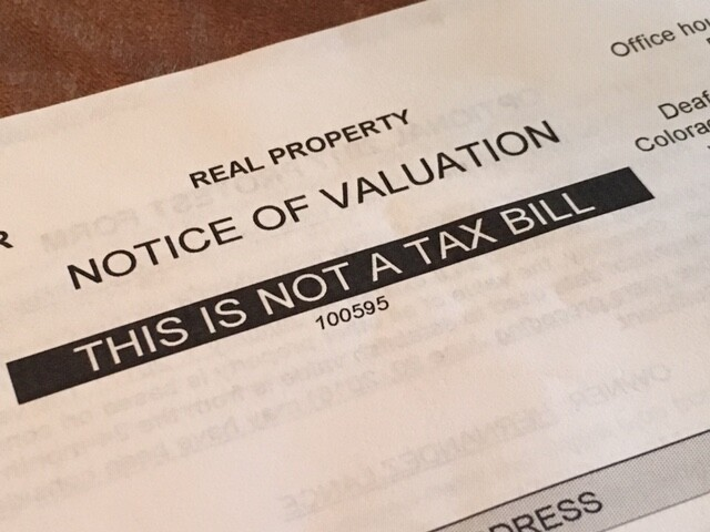 Valuation Notice