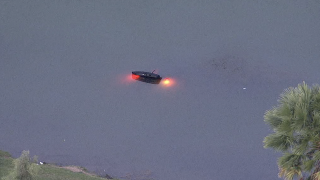 Vehicle in pond 10-1