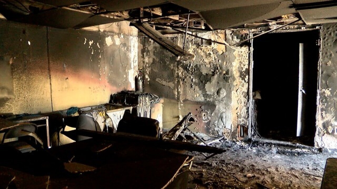 Transient denies setting fire to South Bay community group's office