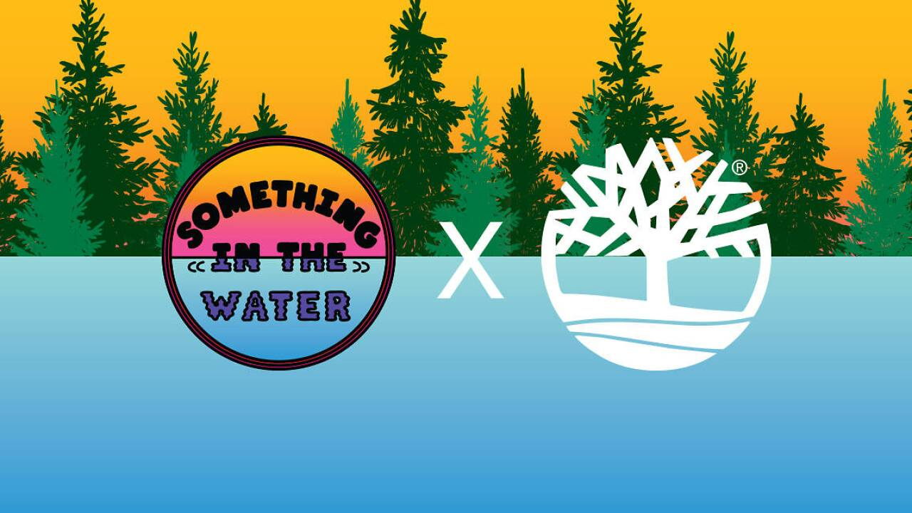 Stop by the Timberland Pop Up Park at the Something in the Water festival