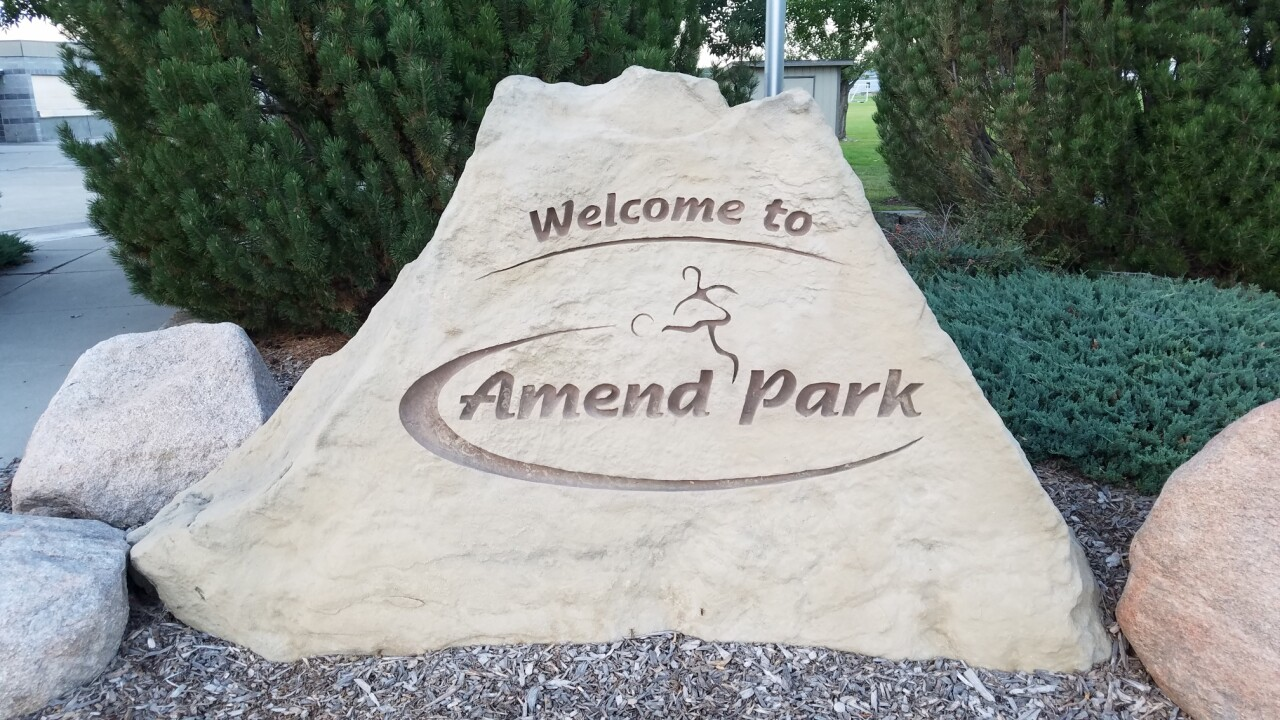 Billings Amend Park Pavilion Sign