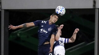 MLS Sporting KC Whitecaps Soccer