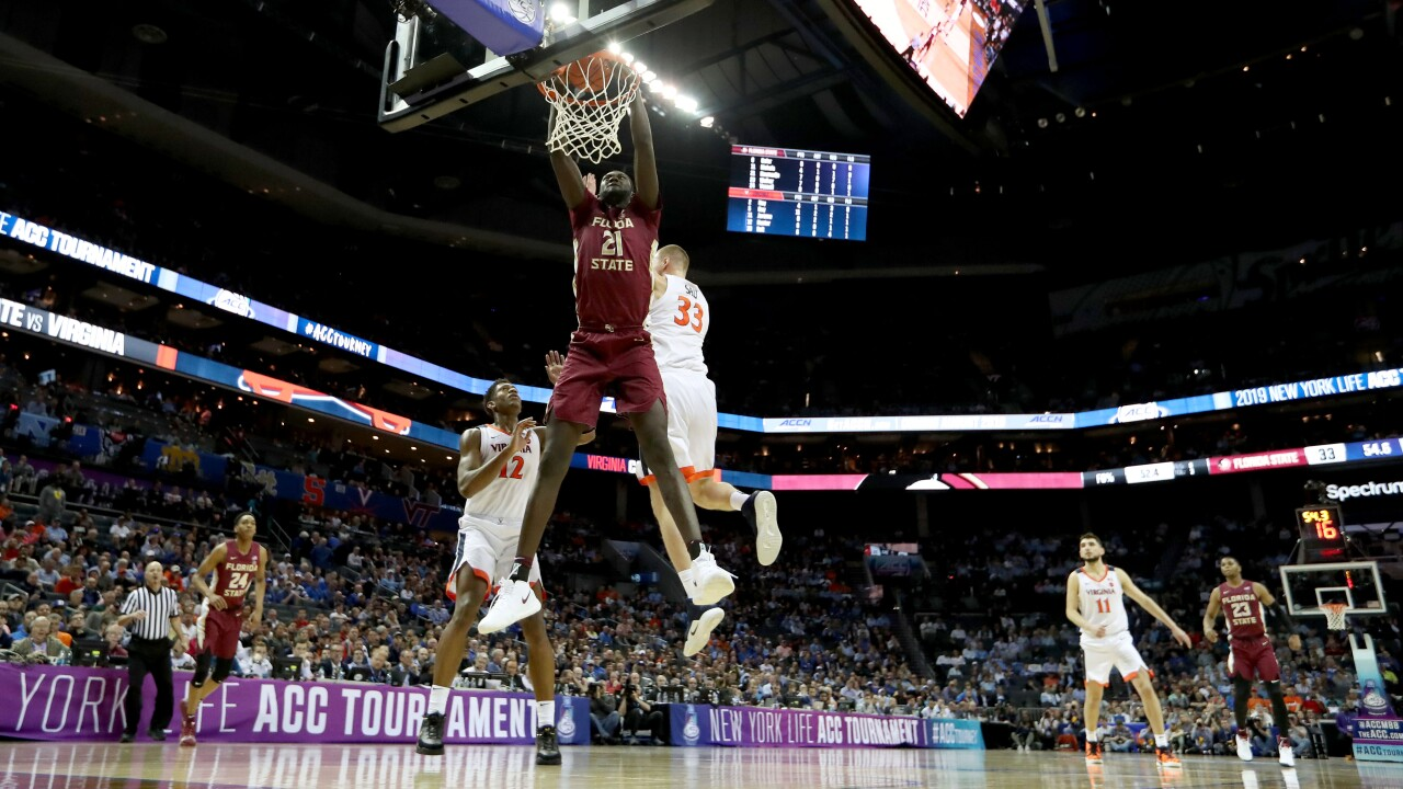 Number one is done: UVA ousted from ACC Tournament by Florida State