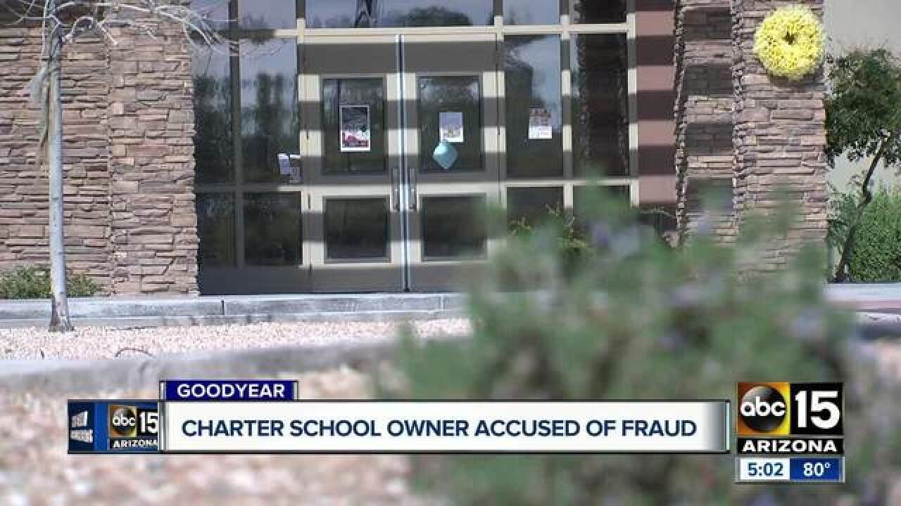 Goodyear charter school owner accused of fraud