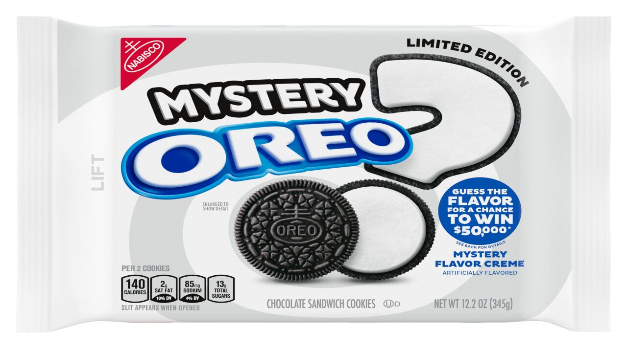 You could win $50,000 if you can guess Oreo's mystery flavor