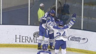 Air Force hockey's postseason opponent set for AHA playoffs