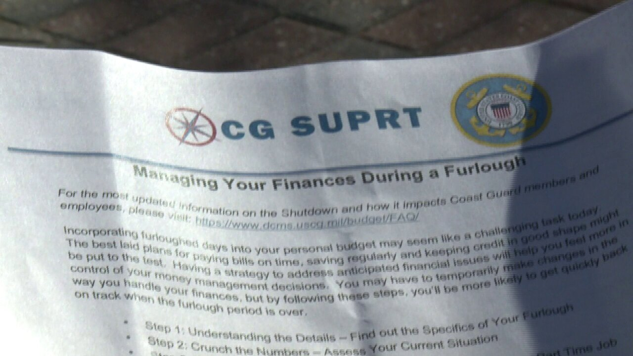 Local families react as Coast Guard encourages them to take up dog walking during governmentshutdown