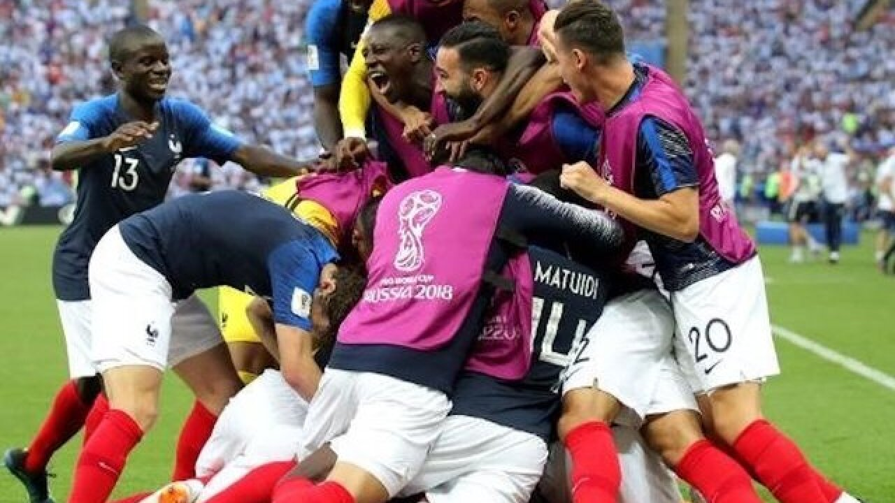 Kylian Mbappe scores twice as France knocks Lionel Messi's Argentina out of World Cup