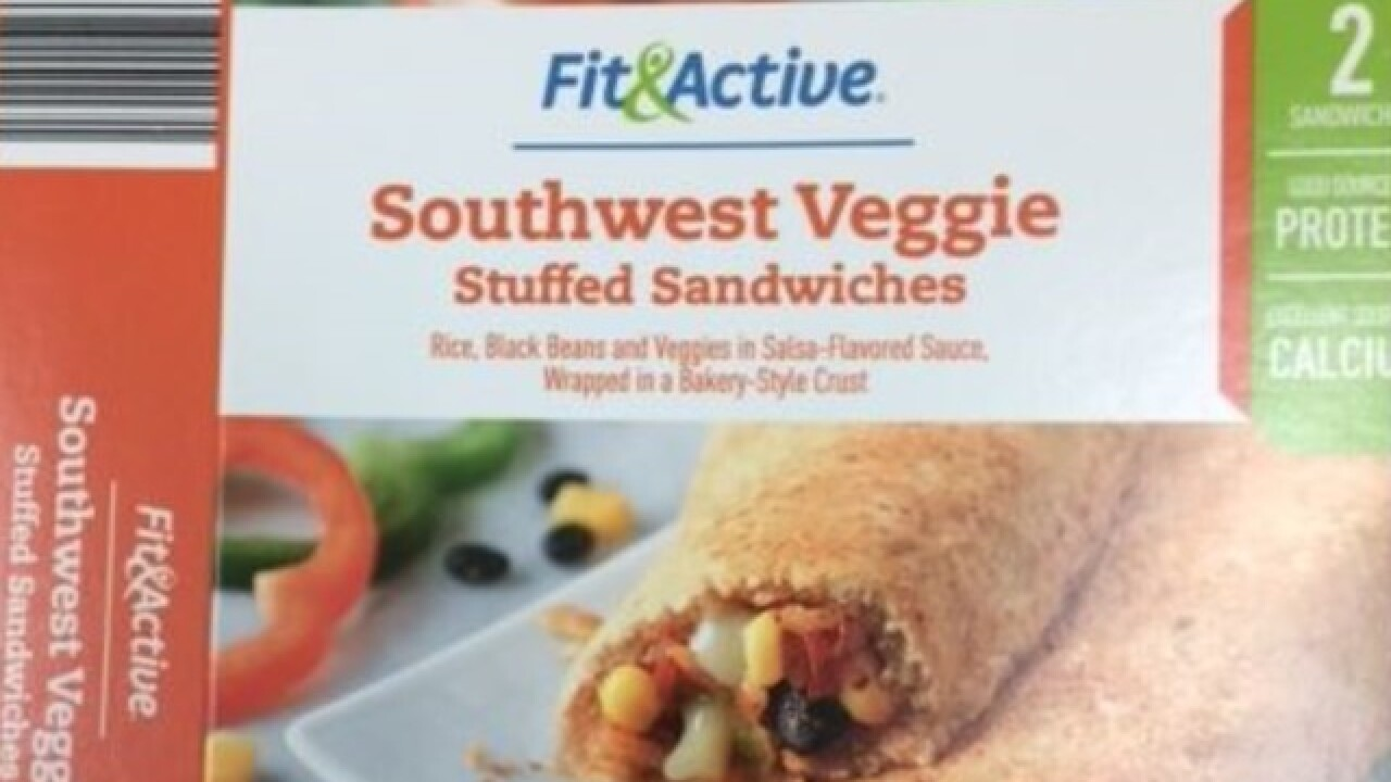Stuffed sandwiches sold at Aldi recalled