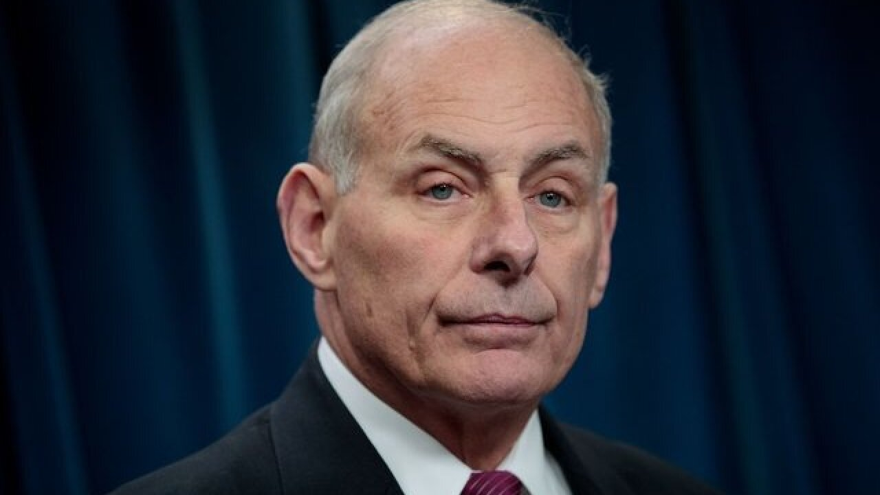 Trump announces John Kelly is leaving as White House Chief of Staff