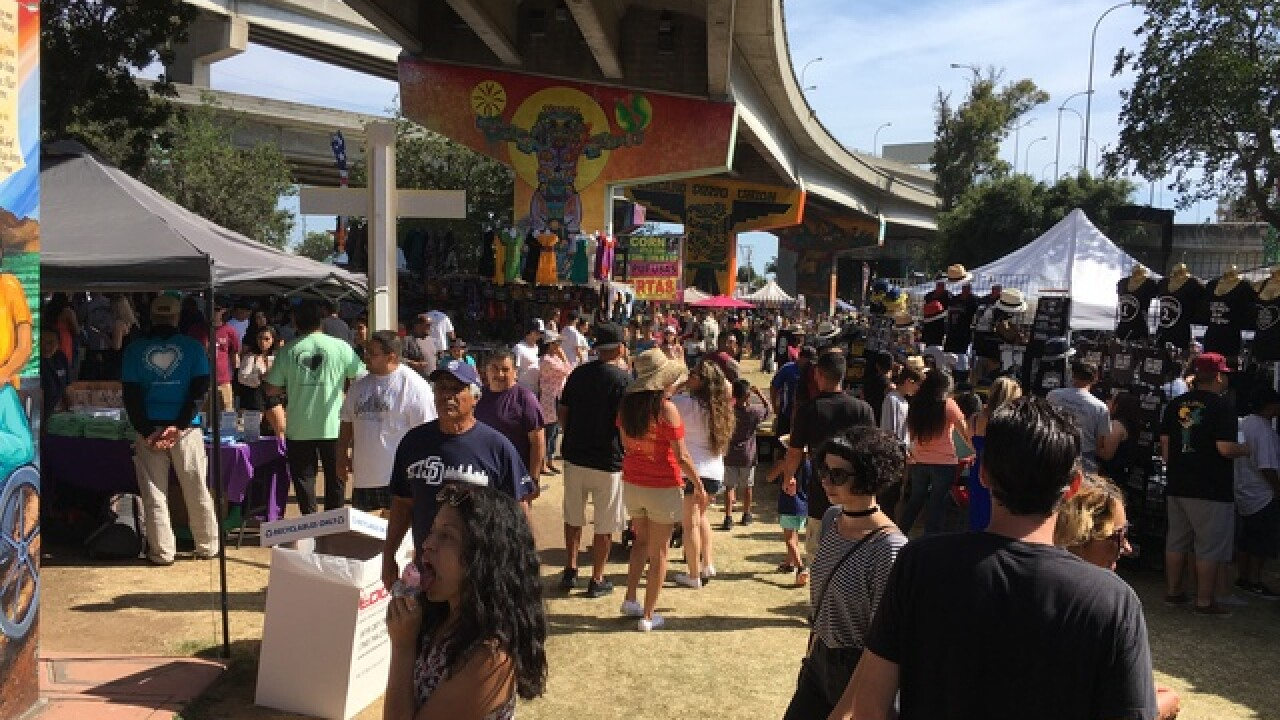 Chicano Park Day celebrates Ramn Chunky Snchez