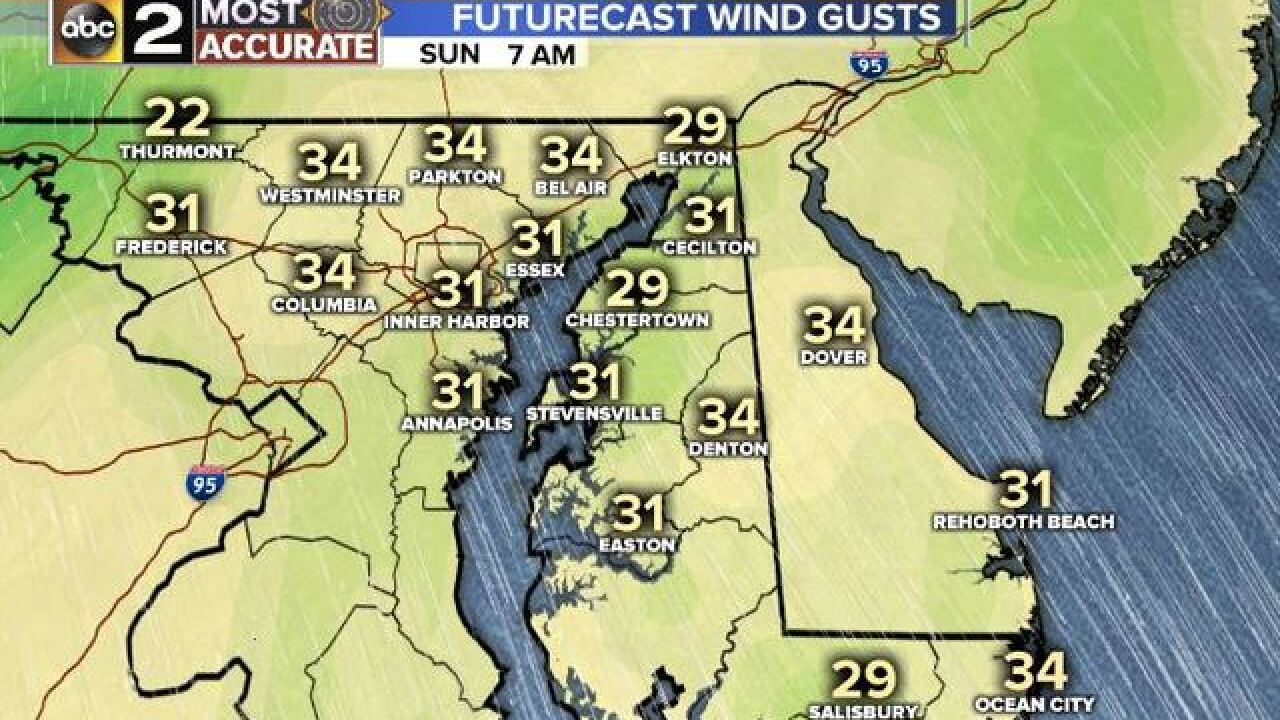 Windstorm March Weather Maddness