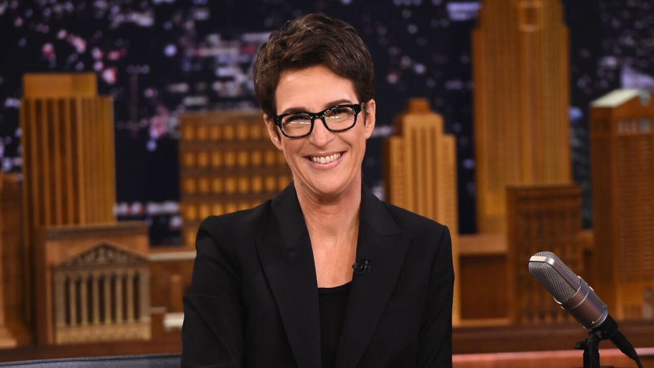 "Rachel Maddow Visits ""The Tonight Show Starring Jimmy Fallon"""