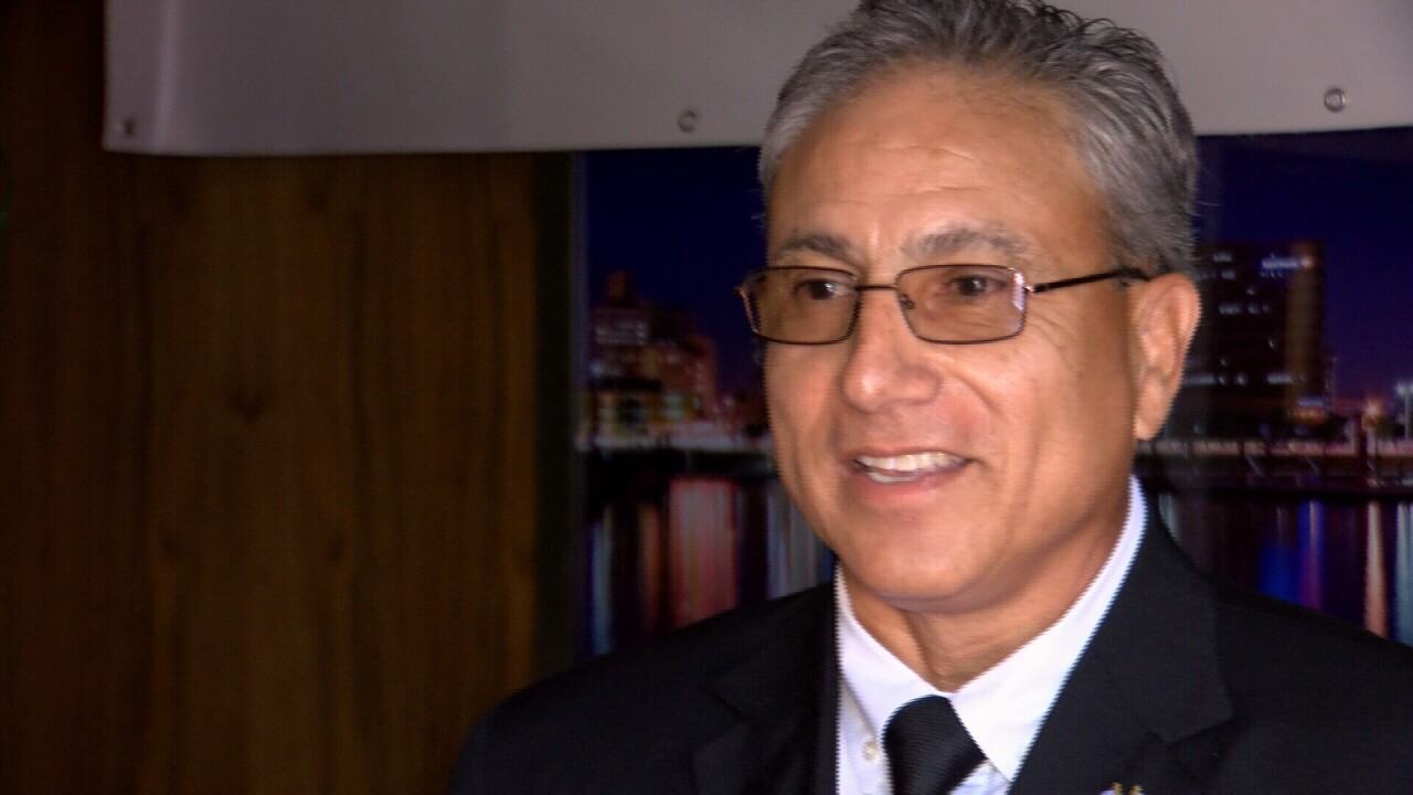 Mayoral candidate says he will focus on fixing streets and homeless issues