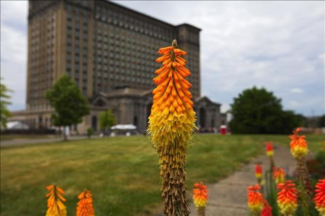 PHOTO GALLERY: Inside Detroit's Michigan Central Station