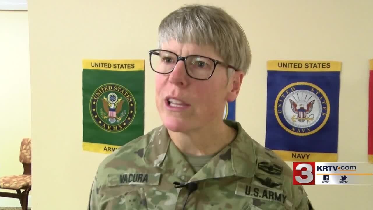 Army National Guard State Command Chief, Chief Warrant Officer 5 (CW5) Julie Vacura