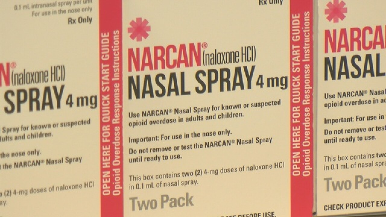 TPD supplied with an opioid overdose antidote