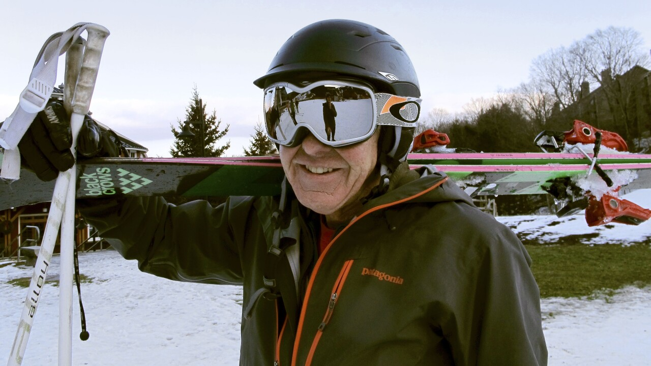 Skiing Helmet Safety