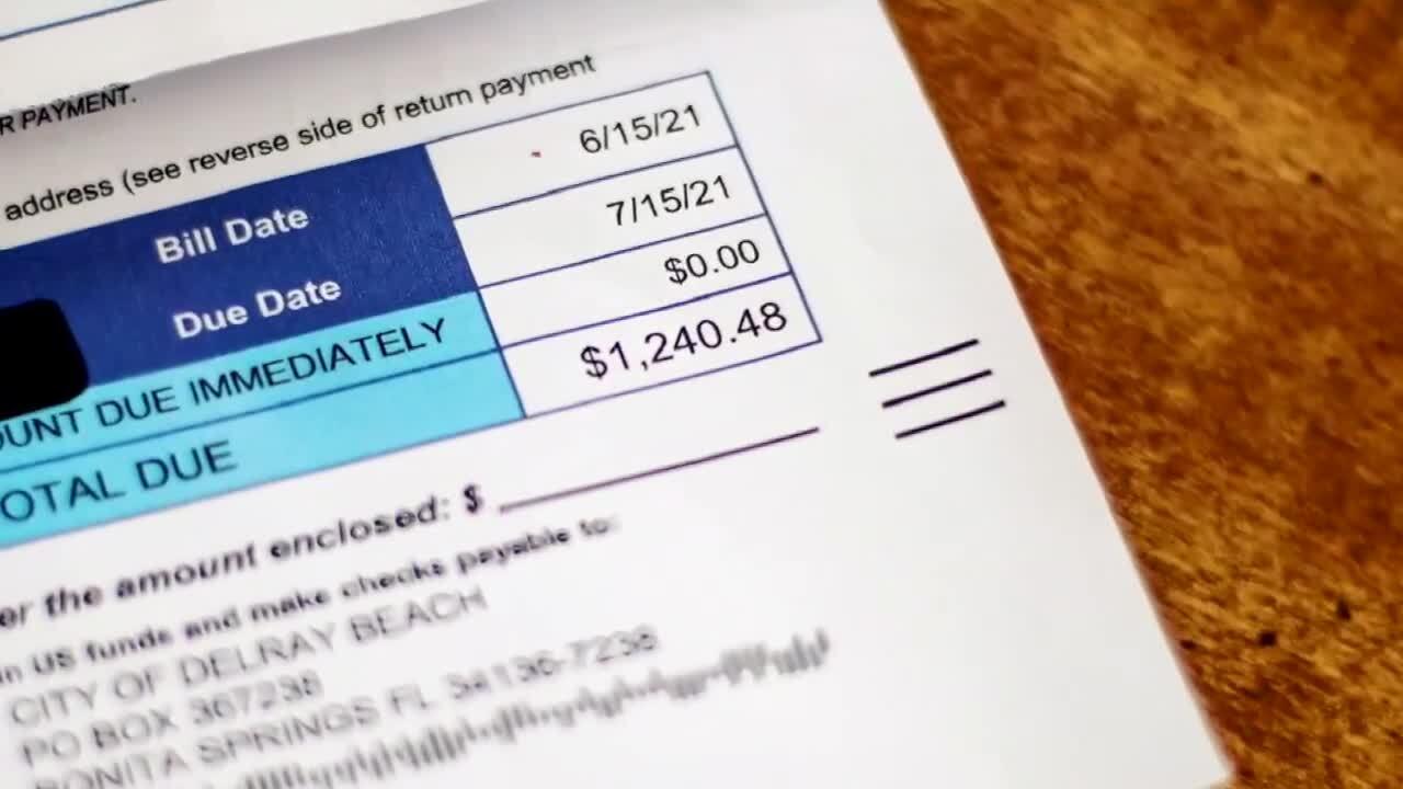 Betsy Tyson's $1,240.48 water bill