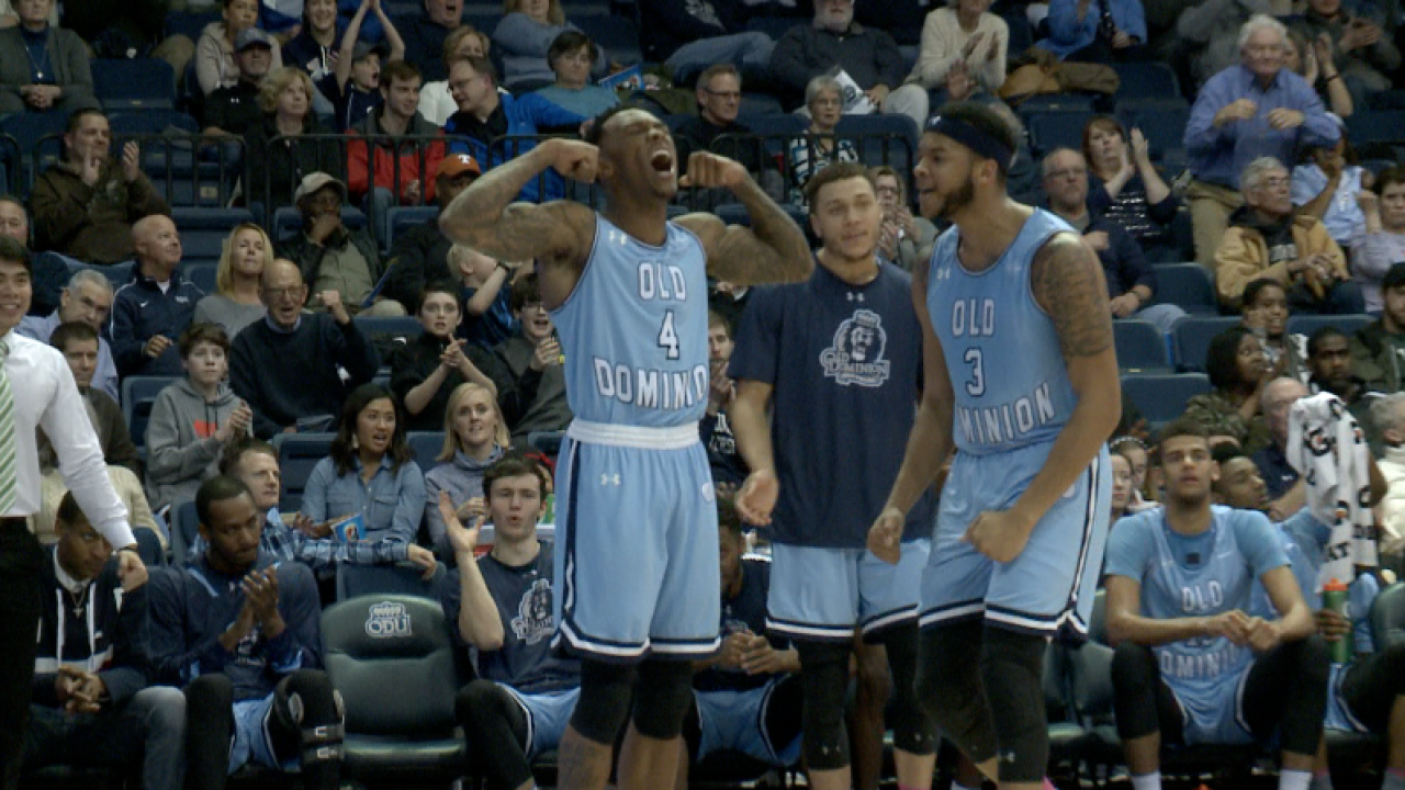 ODU men's hoops holds UTEP to a record-low 33 points in Alumni Nightrout