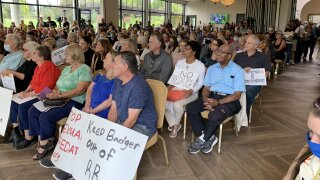 Rancho Bernardo residents hold town hall meeting to oppose SVP placement